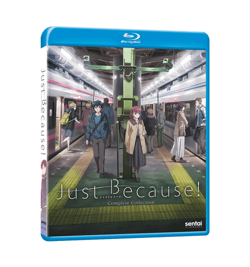 Just Because Complete Collection Blu-ray Front Cover
