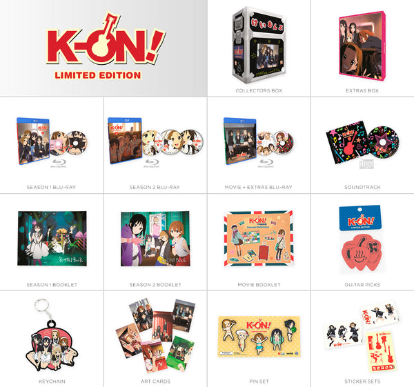 K-ON! Premium Box Set Contents