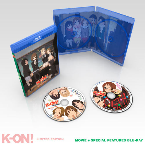 K-ON! Premium Box Set Movie Blu-ray Disc Spread