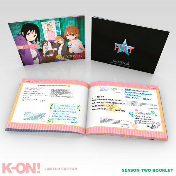 K-ON! Premium Box Set Season 2 Booklet