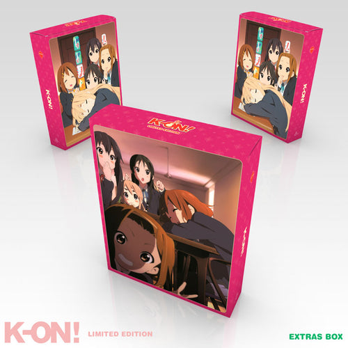 K-ON! Premium Box Set Extras Box
