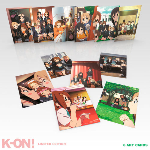 K-ON! Premium Box Set Art Cards