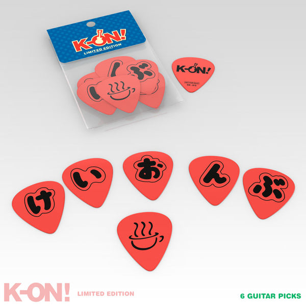 K-ON! Premium Box Set Guitar Picks