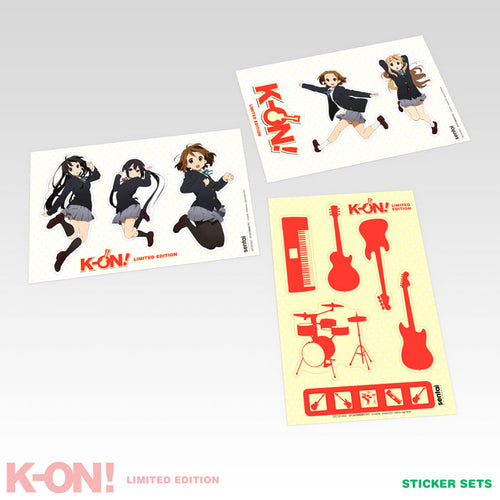 K-ON! Premium Box Set Sticker Set