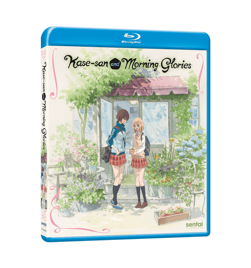 Kase-san and Morning Glories Complete Collection Blu-ray Front Cover