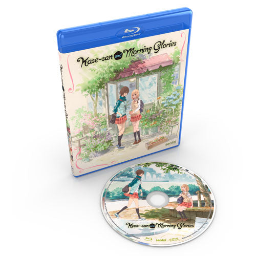 Kase-san and Morning Glories Complete Collection Blu-ray Disc Spread