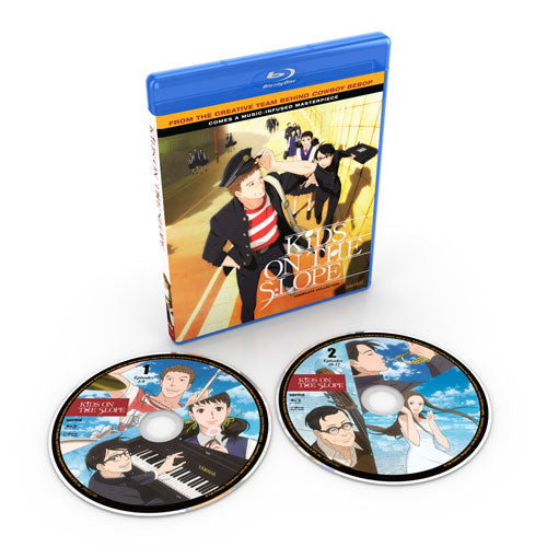 Kids on the Slope Complete Collection Blu-ray Disc Spread