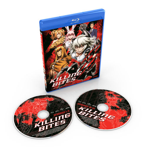 Killing Bites Complete Collection Blu-ray Disc Spread