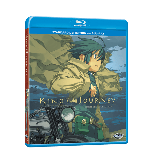 Kino's Journey Complete Collection SD Blu-ray Front Cover