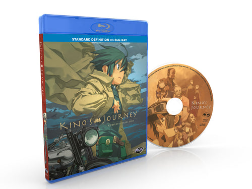 Kino's Journey Complete Collection SD Blu-ray Disc Spread