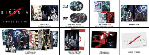 Knights of Sidonia Premium Box Set Contents
