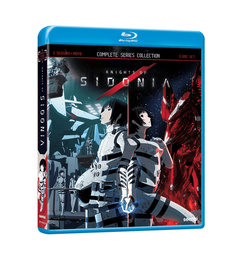 Knights of Sidonia Complete Series Blu-ray Front Cover