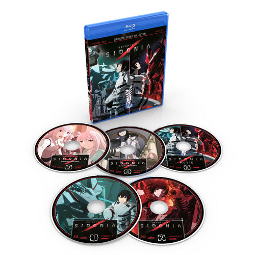 Knights of Sidonia Complete Series Blu-ray Disc Spread