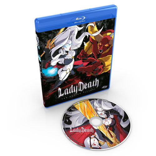 Lady Death the Motion Picture Blu-ray Disc Spread