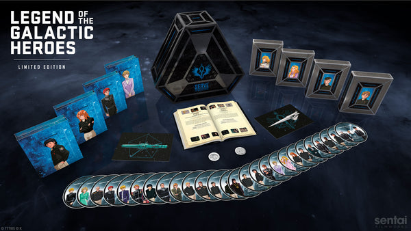 Legend of the Galactic Heroes Premium Box Set Scene