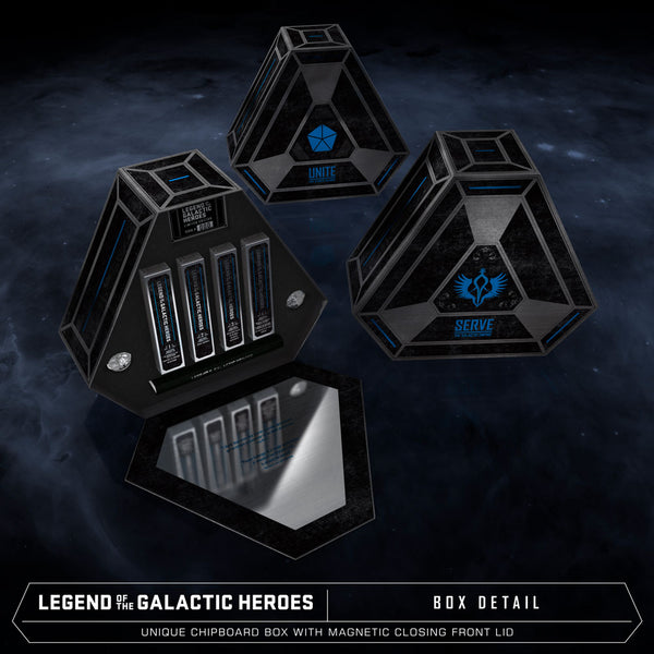Legend of the Galactic Heroes Premium Box Set Design