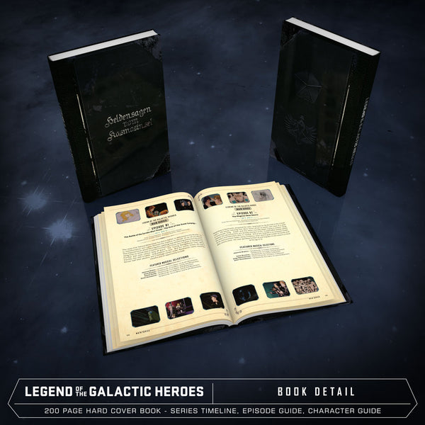 Legend of the Galactic Heroes Premium Box Set Hard Cover Book