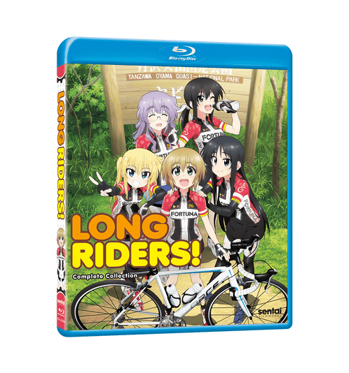 Long Riders! Complete Collection Blu-ray Front Cover