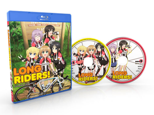 Long Riders! Complete Collection Blu-ray Disc Spread
