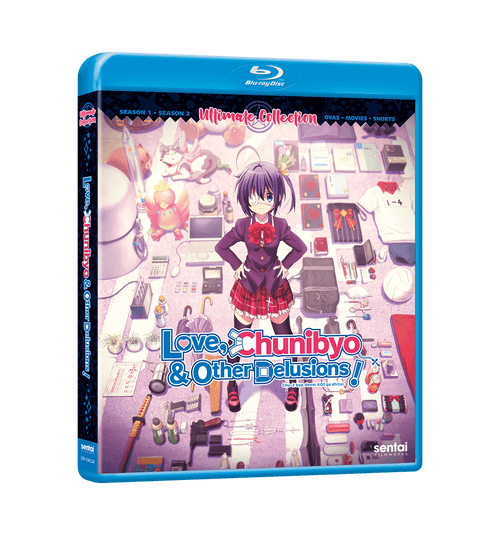 Love, Chunibyo & Other Delusions Ultimate Collection Blu-ray Front Cover