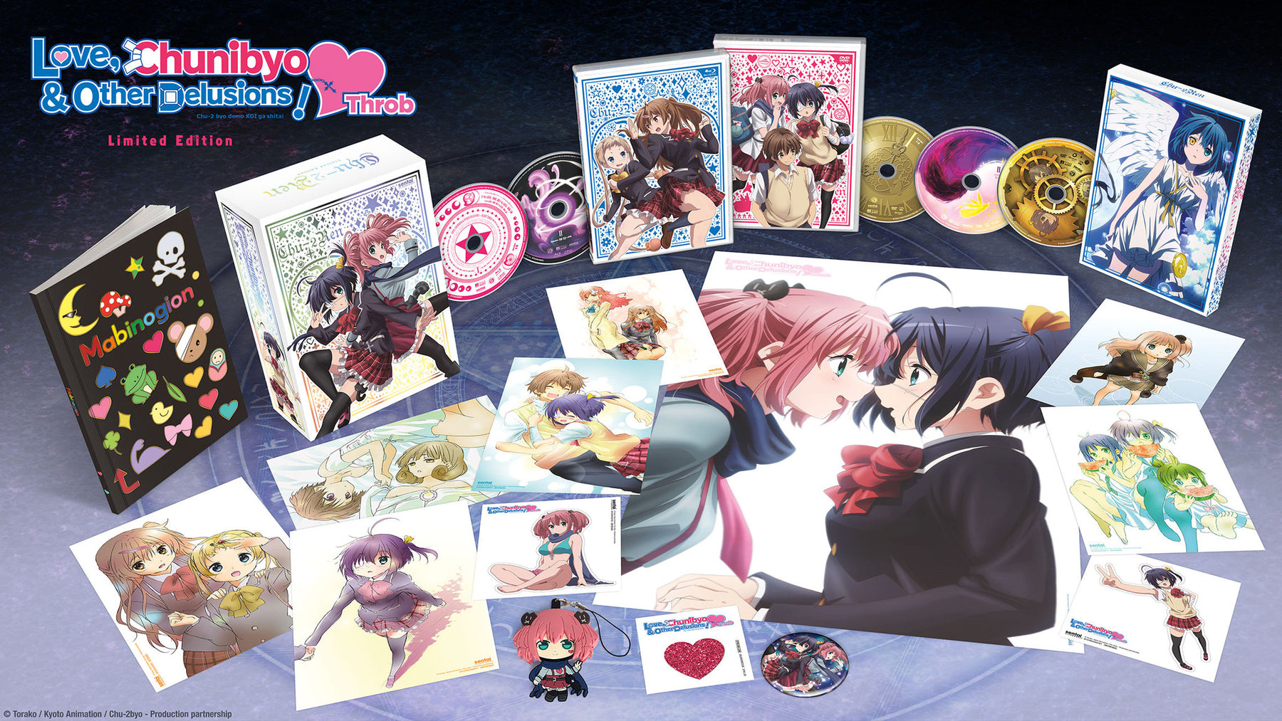 Love, Chunibyo & Other Delusions! -Heart Throb- Premium Box Set