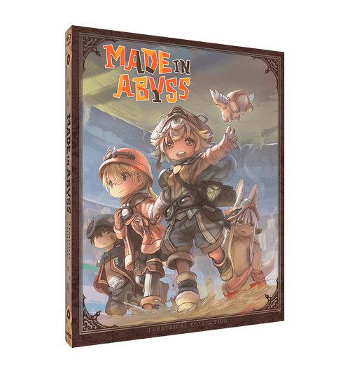 MADE IN ABYSS Theatrical Collection [SteelBook] Blu-ray Front Cover
