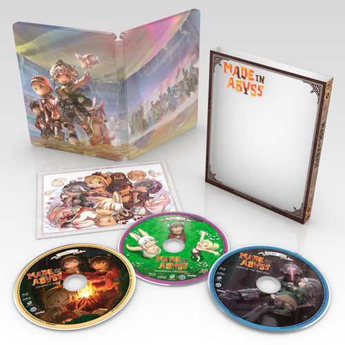 MADE IN ABYSS Theatrical Collection [SteelBook] Blu-ray Disc Spread