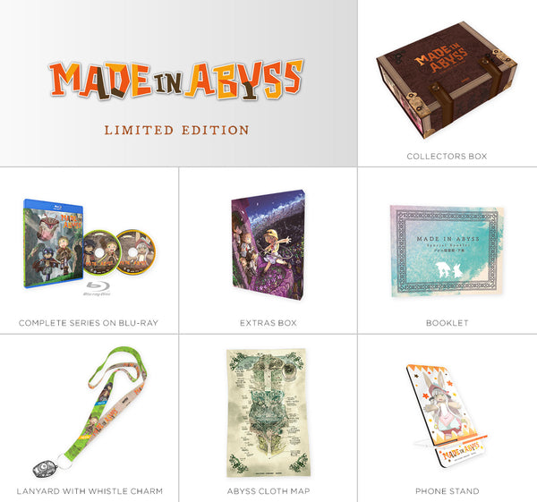 MADE IN ABYSS Premium Box Set Contents