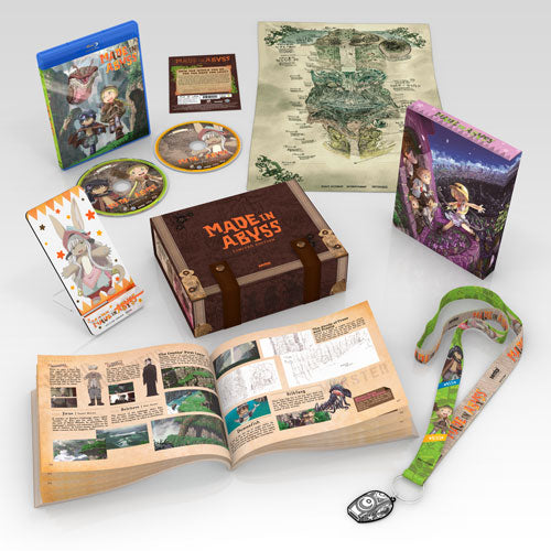 MADE IN ABYSS Premium Box Set Scene