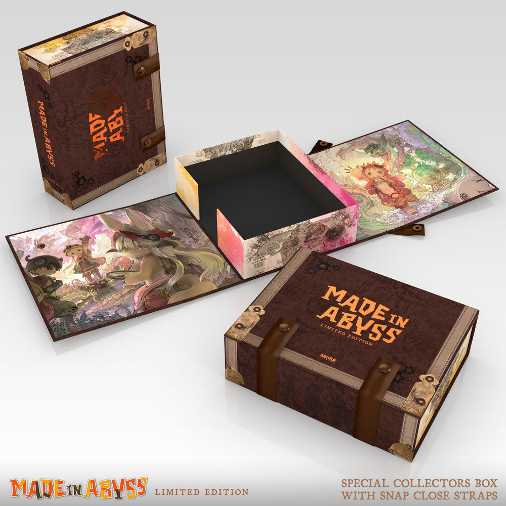 MADE IN ABYSS Premium Box Design