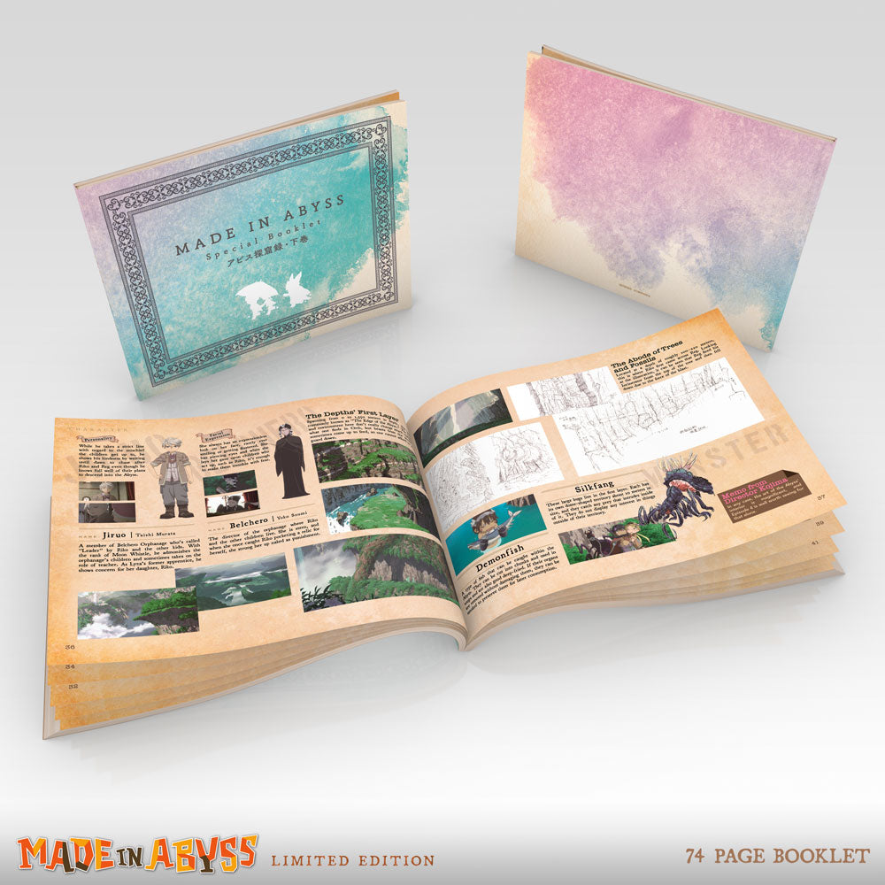 MADE IN ABYSS Premium Box Set Booklet