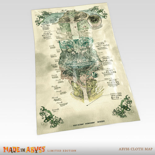 MADE IN ABYSS Premium Box Set Abyss Cloth Map