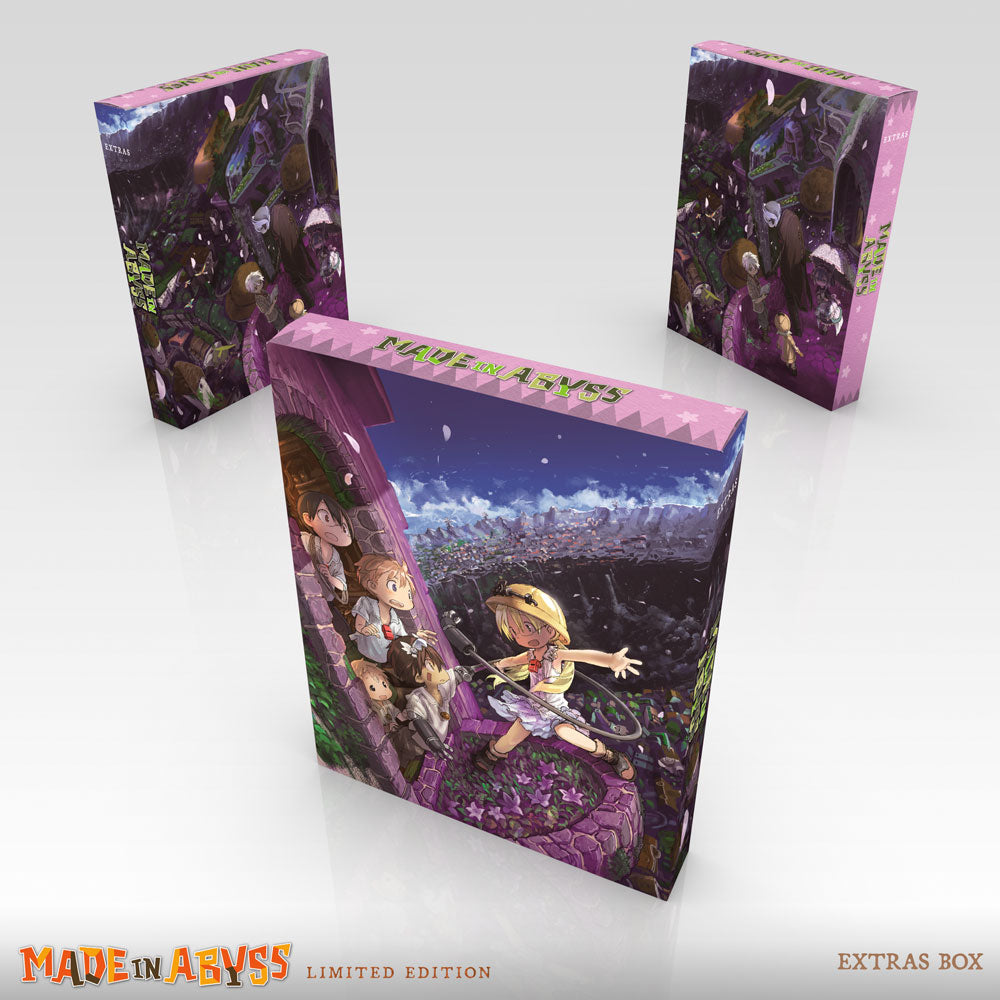 MADE IN ABYSS Premium Box Set Extras Box