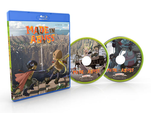 Made in Abyss Complete Collection Blu-ray Disc Spread
