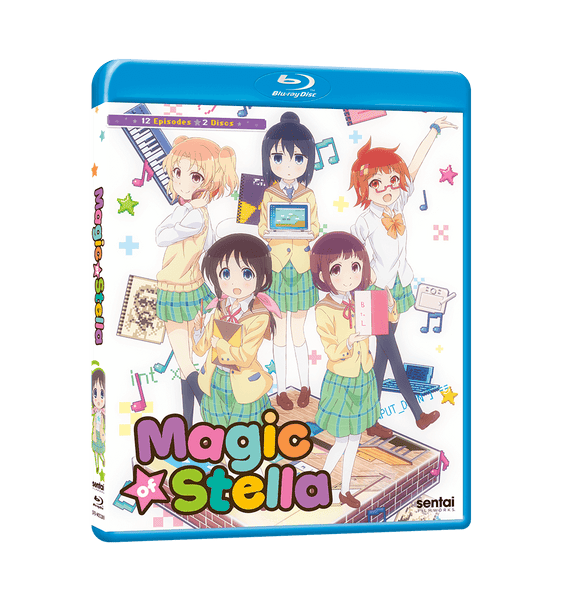 Magic of Stella Complete Collection Blu-ray Front Cover