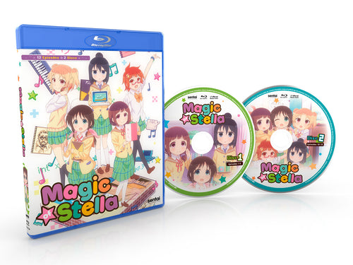 Magic of Stella Complete Collection Blu-ray Disc Spread