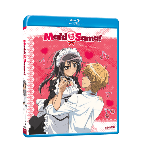 Maid-Sama! Complete Collection Blu-ray Front Cover