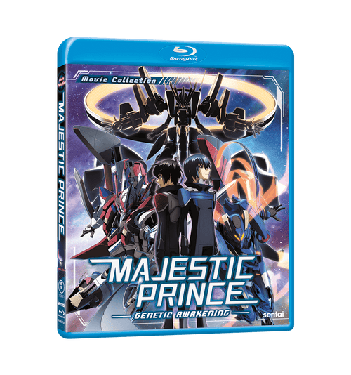 Majestic Prince: Genetic Awakening Blu-ray Front Cover