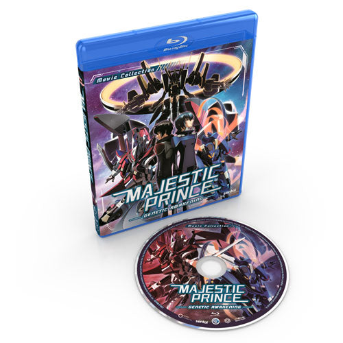 Majestic Prince: Genetic Awakening Blu-ray Disc Spread