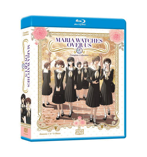 Maria Watches Over Us Complete Collection Blu-ray Front Cover