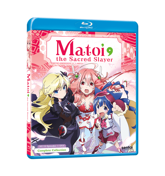 Matoi the Sacred Slayer Complete Collection Blu-ray Front Cover