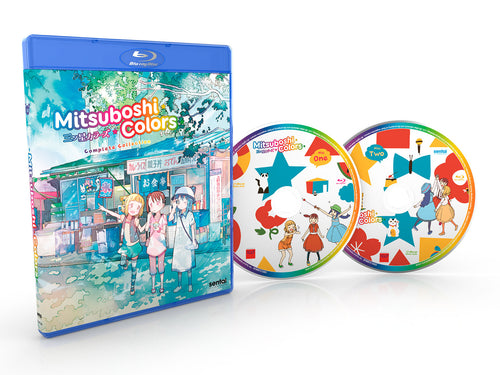 Mitsuboshi Colors Complete Collection Blu-ray Disc Spread