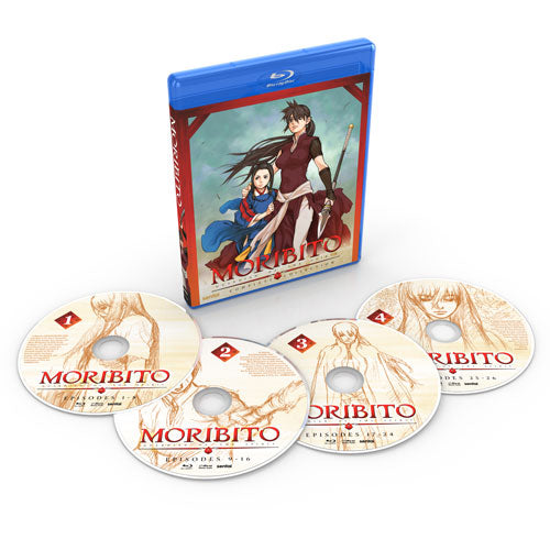 Moribito: Guardian of the Spirit Complete Collection Blu-ray Disc Spread