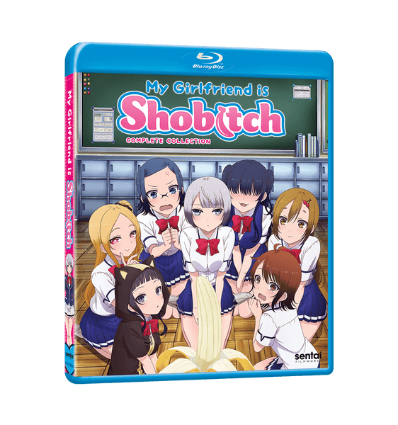 My Girlfriend is Shobitch Complete Collection Blu-ray Front Cover