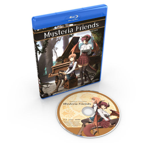 Mysteria Friends Complete Collection Blu-ray Disc Spread