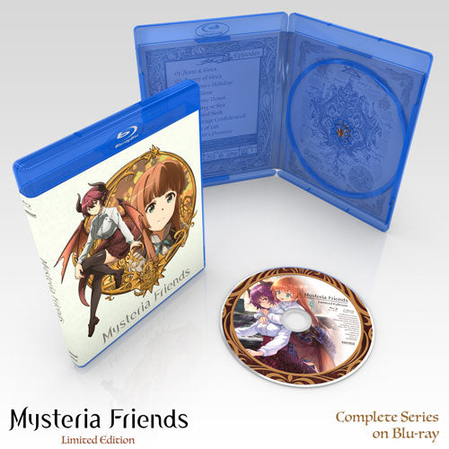 Mysteria Friends Premium Box Set Blu-ray Disc Spread