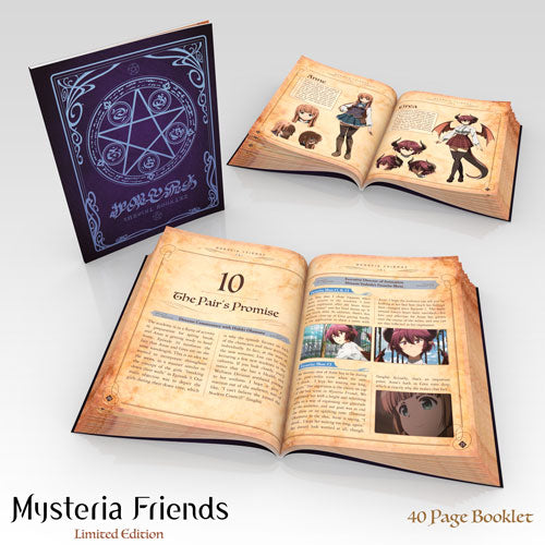Mysteria Friends Premium Box Set Art Booklet