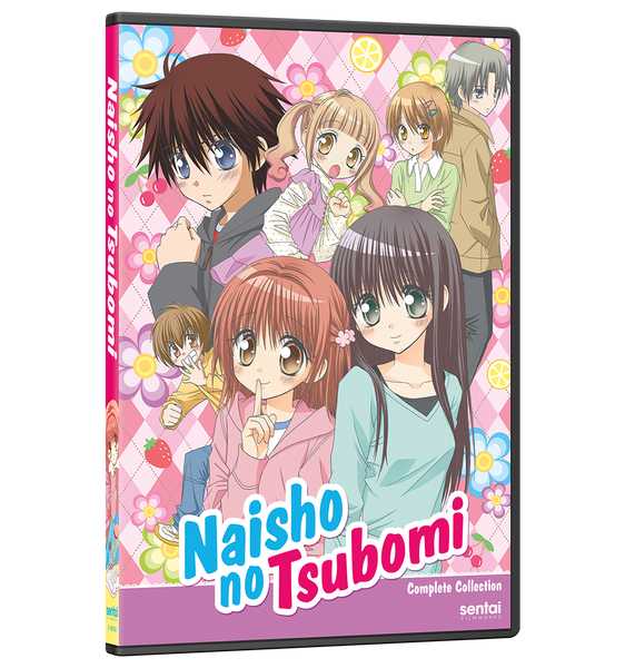 Naisho no Tsubomi Complete Collection DVD Front Cover