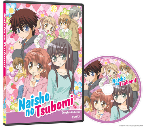 Naisho no Tsubomi Complete Collection DVD Disc Spread