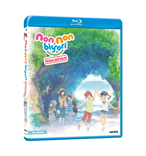 Non Non Biyori Vacation Blu-ray Front Cover